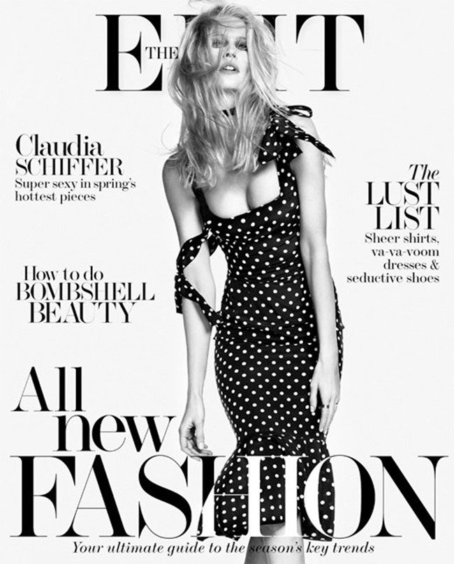 THE EDIT MAGAZINE Claudia Schiffer by Nico Bustos. Spring 2014, www.imageamplified.com, Image Amplified (1)