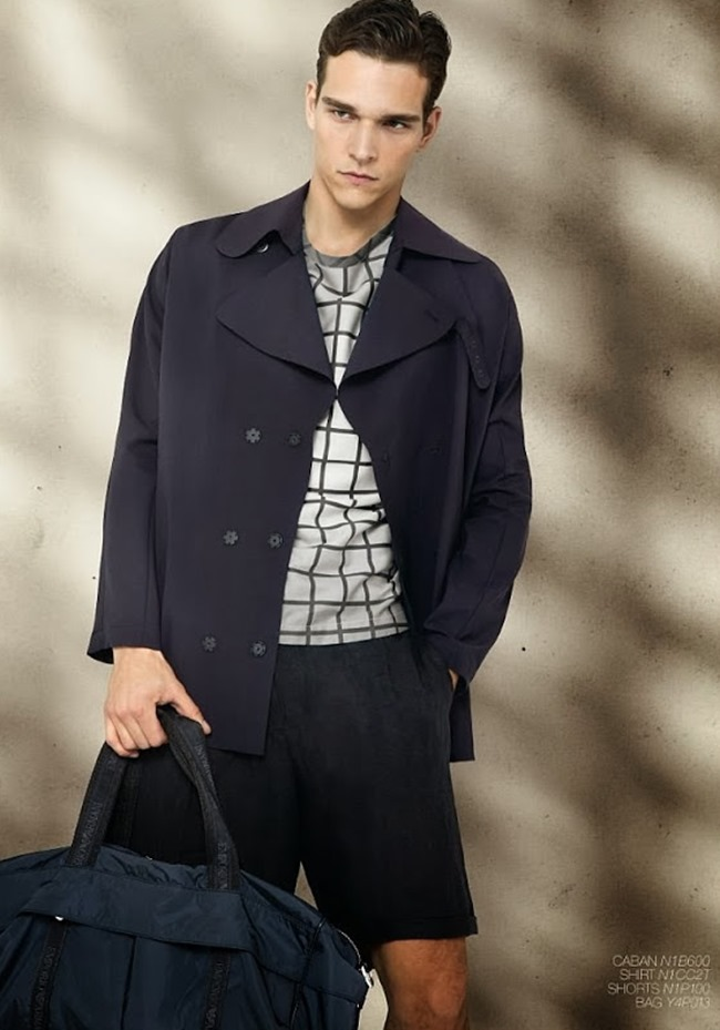 CAMPAIGN Alexandre Cunha for Emporio Armani Spring 2014. www.imageamplified.com, Image Amplified (5)