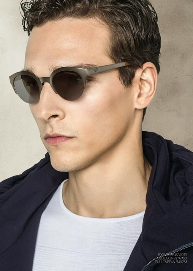 CAMPAIGN Alexandre Cunha for Emporio Armani Spring 2014. www.imageamplified.com, Image Amplified (1)