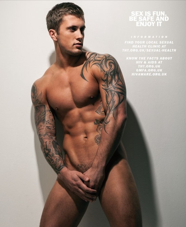MASCULINE DOSAGE Dan Osborne in The Naked Issue for Attitude UK, March 2014. www.imageamplified.com, Image Amplified (7)