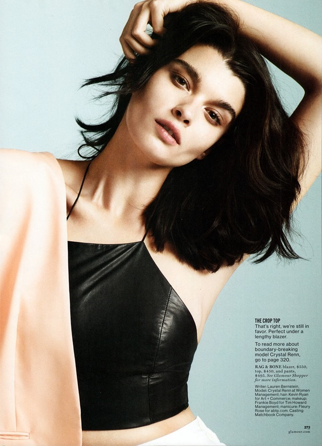 GLAMOUR MAGAZINE Crystal Renn in The Shape Of Clothes To Come by Paul Wetherell. Anne Christensen, March 2014, www.imageamplified.com, Image Amplified (8)