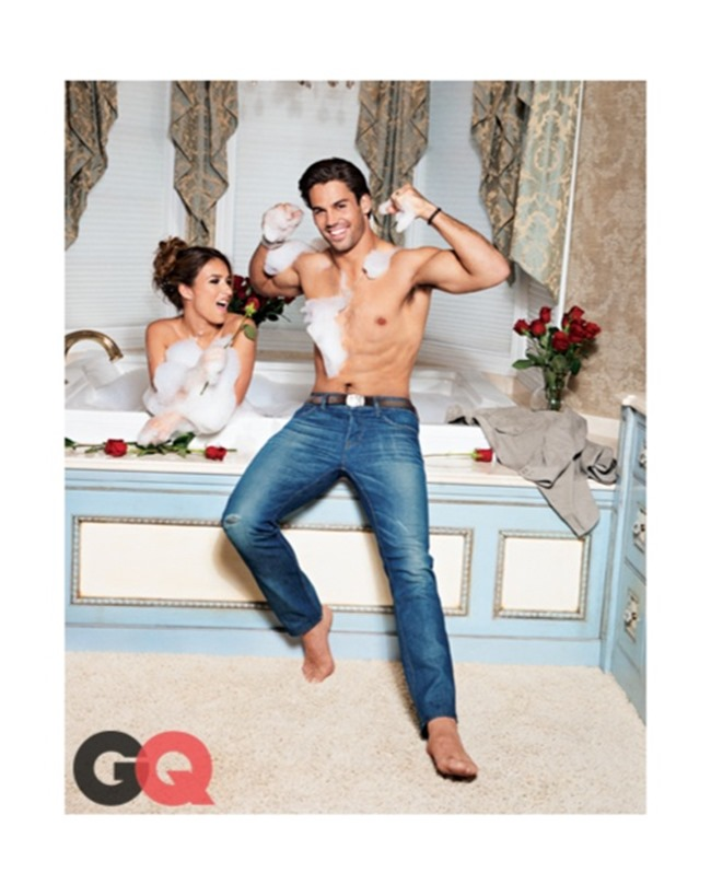 GQ MAGAZINE Eric Decker & Jessie James by Ben Watts. February 2014, www.imageamplified.com, Image amplified (4)