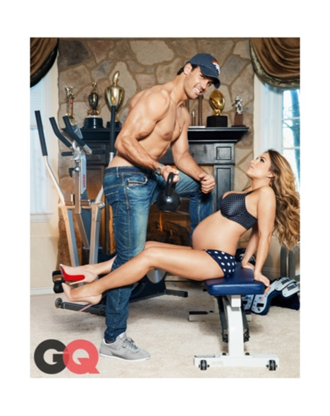GQ MAGAZINE Eric Decker & Jessie James by Ben Watts. February 2014, www.imageamplified.com, Image amplified (6)