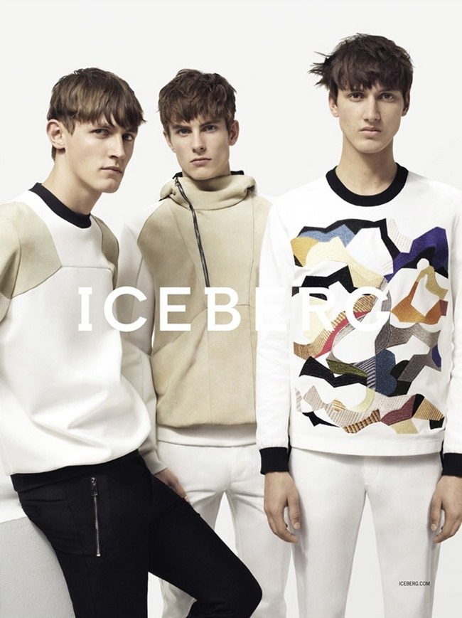 CAMPAIGN Andreas Sanby, Luca Stascheit & Rutger Schoone by Iceberg Spring 2014 by Benny Horne. Tom Van Dorpe, www.imageamplified.com, Image Amplified (1)