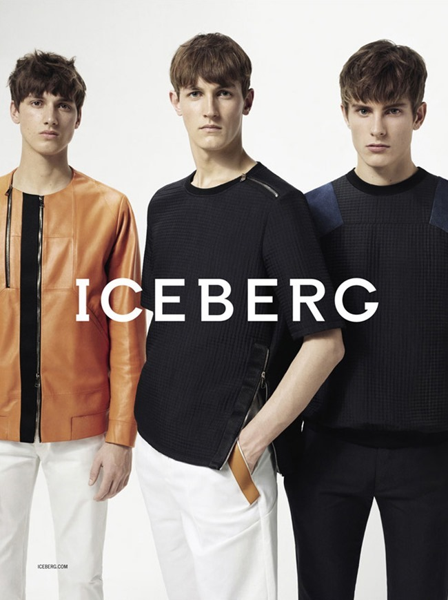 CAMPAIGN Andreas Sanby, Luca Stascheit & Rutger Schoone by Iceberg Spring 2014 by Benny Horne. Tom Van Dorpe, www.imageamplified.com, Image Amplified (3)