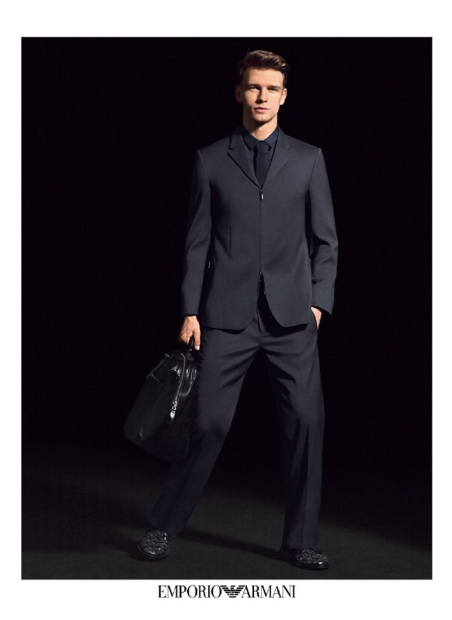CAMPAIGN Benjamin Eidem for Emporio Armani Spring 2014 by Alasdair McLellan. Marie Chaix, www.imageamplified.com, Image Amplified (4)