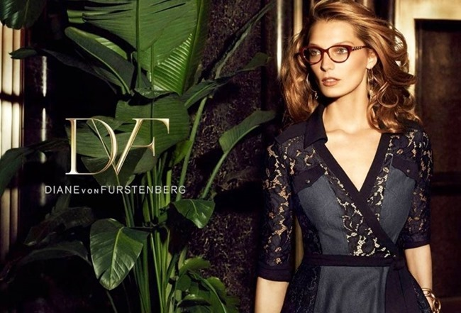 CAMPAIGN Daria Werbowy for Diane von Furstenberg Spring 2014 by Mikael Jansson. www.imageamplified.com, Image amplified (6)