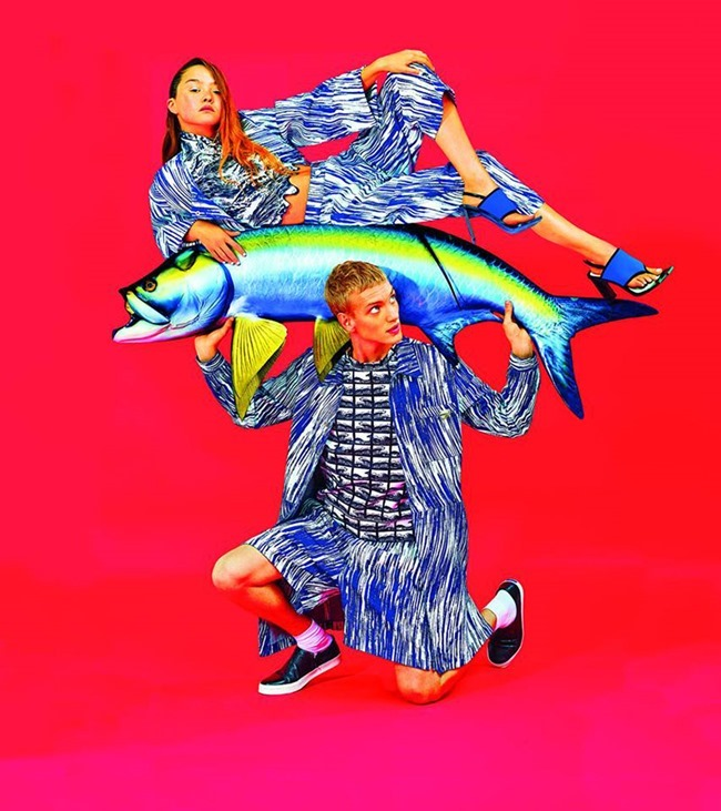 CAMPAIGN Humberto Leon & Carol Lim for Kenzo Spring 2014. www.imageamplified.com, Image Amplified (5)