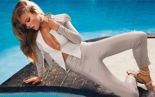 CAMPAIGN Nina Agdal for Bebe Spring 2014 by David roemer. www.imageamplified.com, Image Amplified (9)