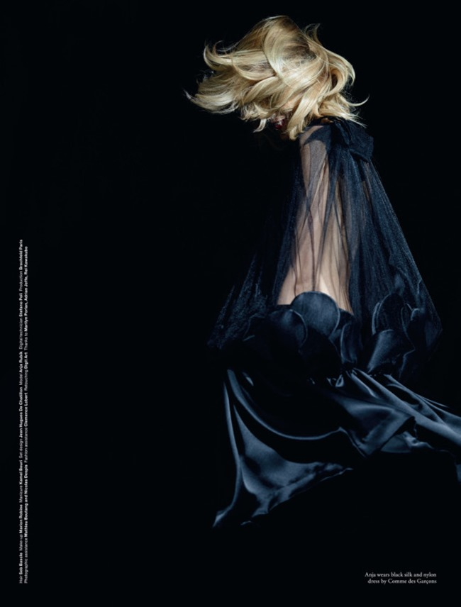 LOVE MAGAZINE Anja Rubik in Comme Des Garcons by Ezra Petronio. Jacob K, Spring 2014, www.imageamplified.com, Image Amplified (7)
