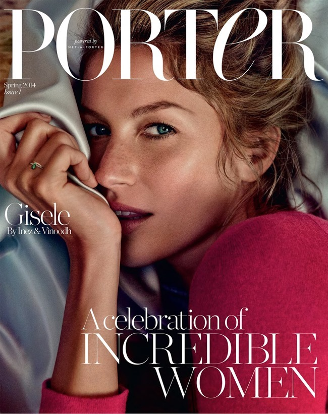 PORTER MAGAZINE Gisele Bundchen in The Woman Within by Inez & Vinoodh. Alex White, Spring 2014, www.imageamplified.com, Image Amplified (2)