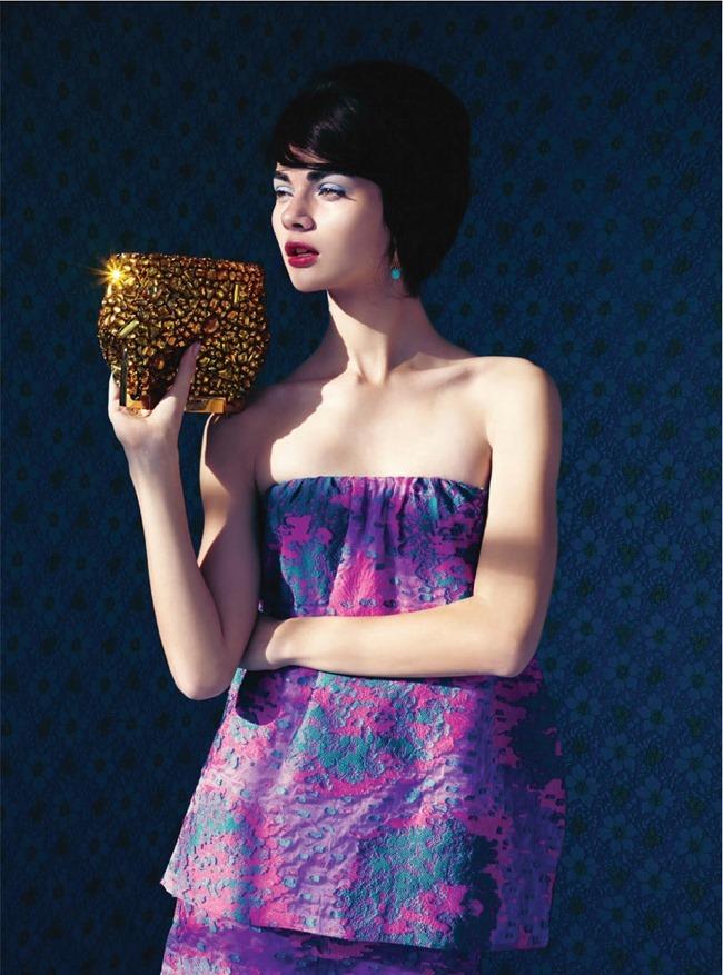HARPER'S BAZAAR MAGAZINE Antonia Vasylchenko in Sweet Sixties by Erik Madigan. Leith Clark, March 2014, www.imageamplified.com, Image Amplified (11)