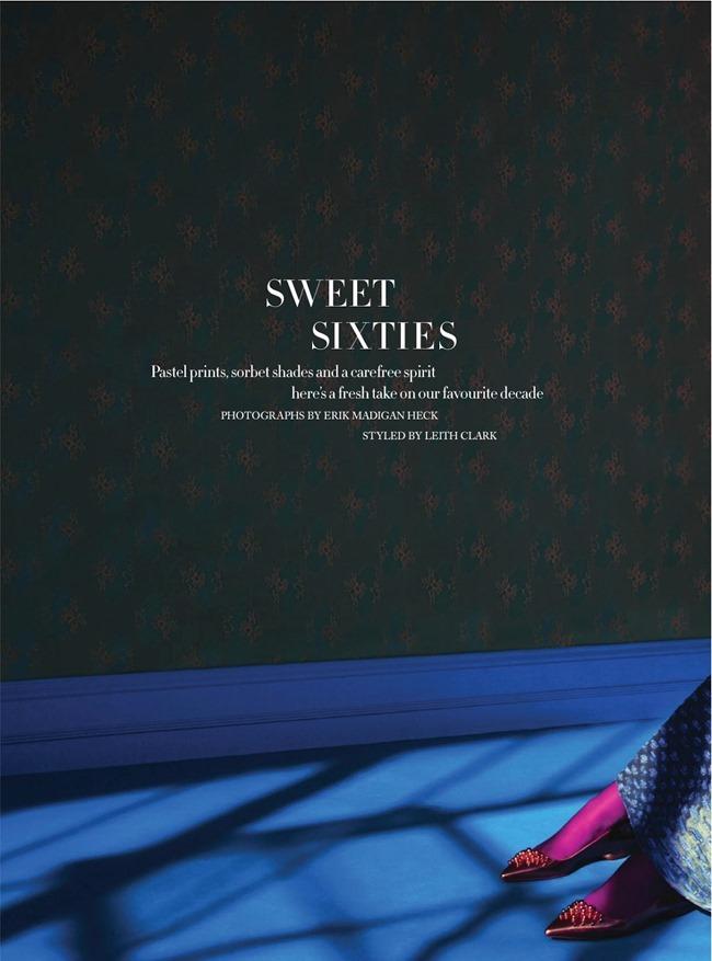 HARPER'S BAZAAR MAGAZINE Antonia Vasylchenko in Sweet Sixties by Erik Madigan. Leith Clark, March 2014, www.imageamplified.com, Image Amplified (1)