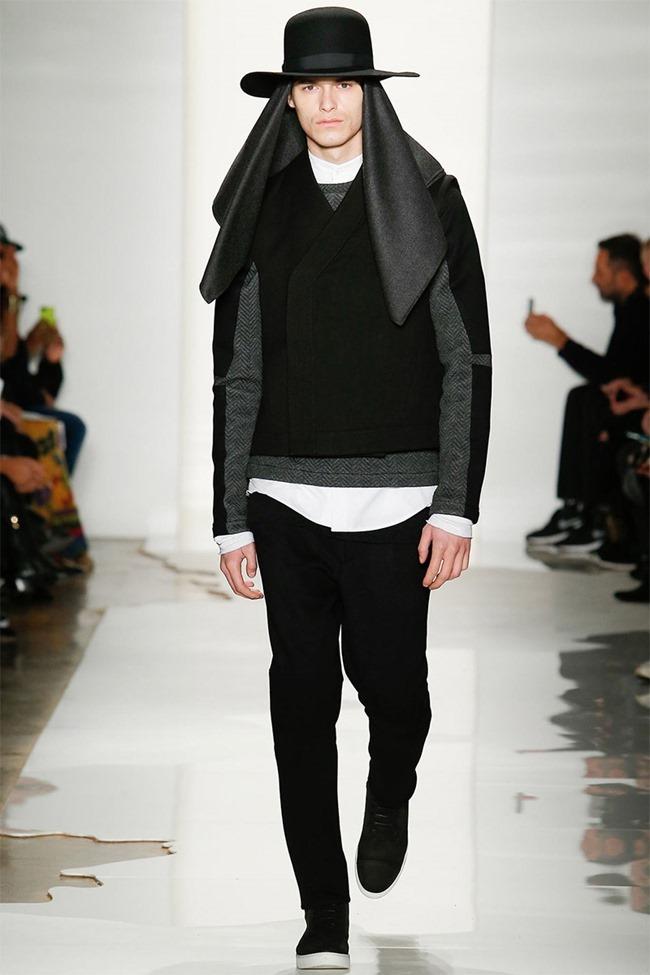 NEW YORK FASHION WEEK Public School Menswear Fall 2014. www.imageamplified.com, Image Amplified (3)