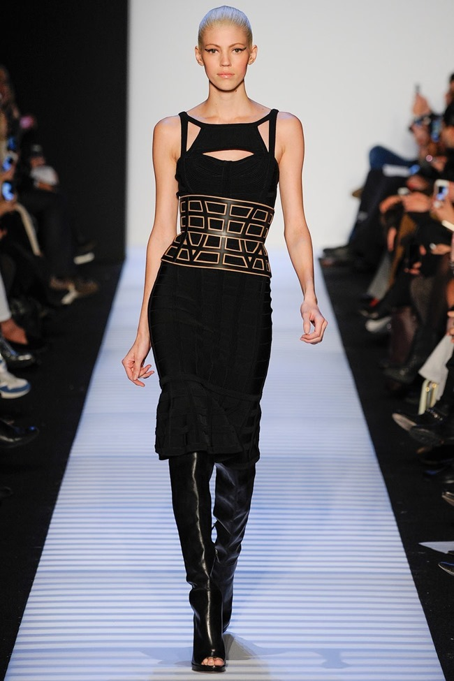 NEW YORK FASHION WEEK Herve Leger by Max Azria RTW Fall 2014. www.imageamplified.com, Image Amplified (2)