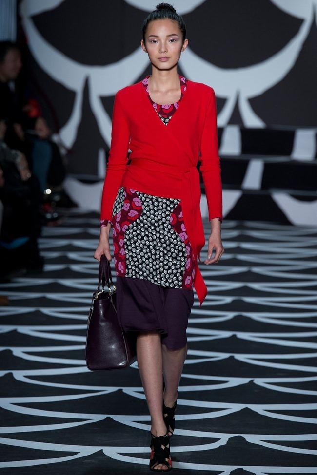 NEW YORK FASHION WEEK Diane von Furstenberg RTW Fall 2014. www.imageamplified.com, Image Amplified (14)