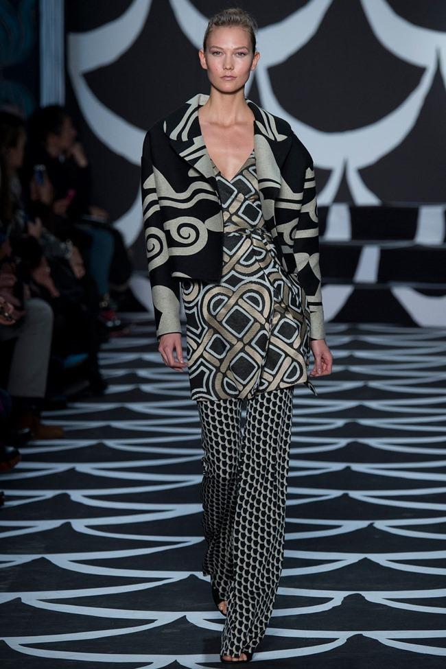NEW YORK FASHION WEEK Diane von Furstenberg RTW Fall 2014. www.imageamplified.com, Image Amplified (2)