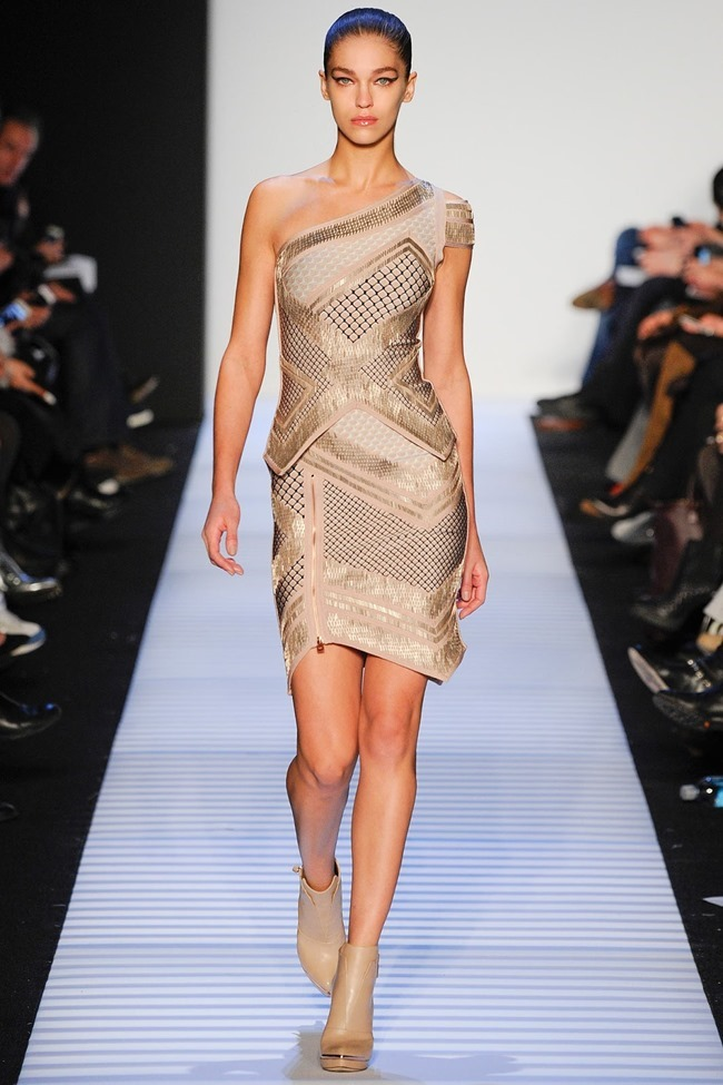 NEW YORK FASHION WEEK Herve Leger by Max Azria RTW Fall 2014. www.imageamplified.com, Image Amplified (26)