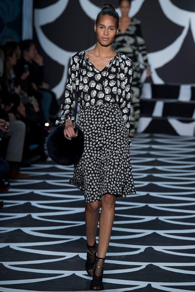NEW YORK FASHION WEEK Diane von Furstenberg RTW Fall 2014. www.imageamplified.com, Image Amplified (4)