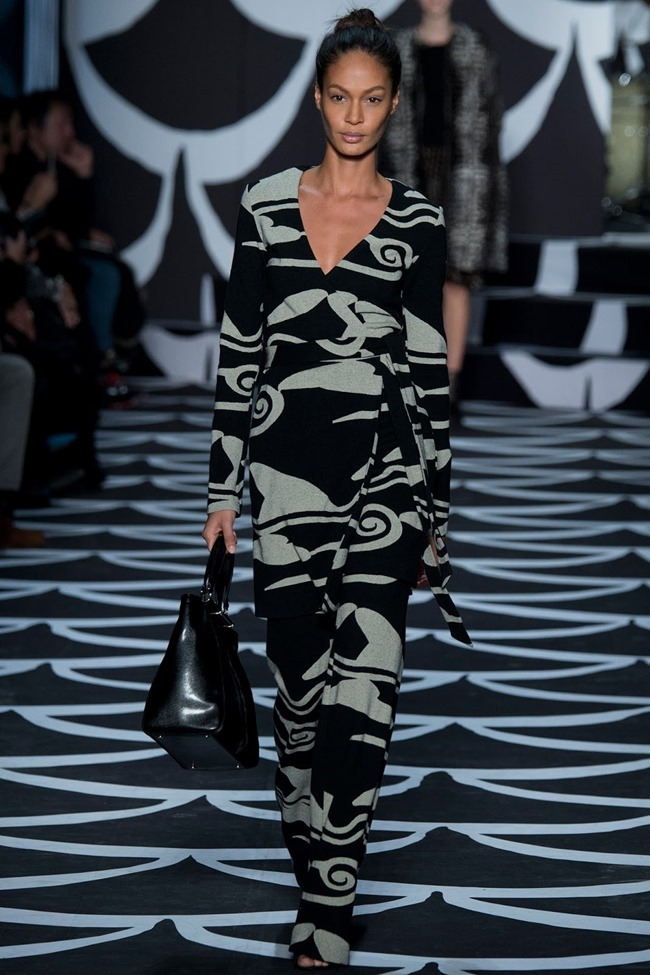 NEW YORK FASHION WEEK Diane von Furstenberg RTW Fall 2014. www.imageamplified.com, Image Amplified (5)