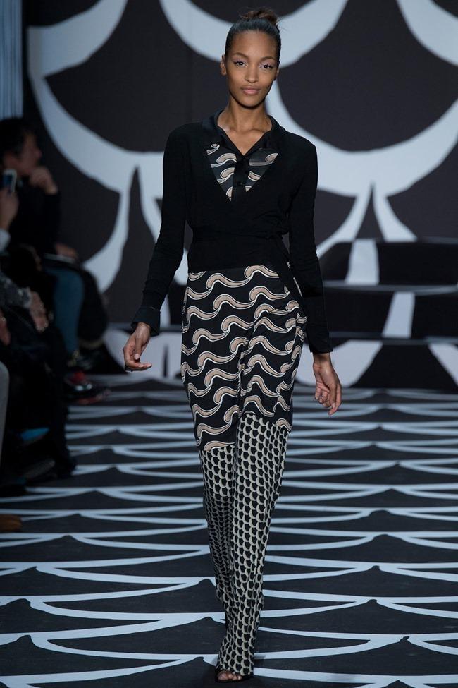NEW YORK FASHION WEEK Diane von Furstenberg RTW Fall 2014. www.imageamplified.com, Image Amplified (7)