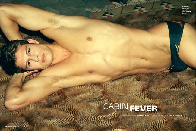 INSTINCT MAGAZINE Eian Scully in Cabin Feber by Vincent Dilio. Eric Launder, March 2014, www.imageamplified.com, Image Amplified (1)