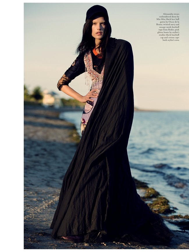 LOVE MAGAZINE Alessandra Ambrosio in As The Sun Goes Down by David Armstrong. Panos Yiapanis, Spring 2014, www.imageamplified.com, Image Amplified (8)