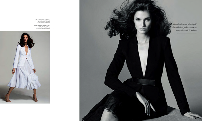 PORTER MAGAZINE Bianca Balti in The Shape Of Things To Come by Cuneyt Akeroglu. Gillian Wilkins, Spring 2014, www.imageamplified.com, Image Amplified (5)