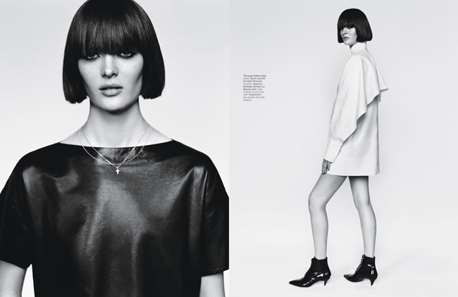W MAGAZINE Sam Rollinson & Andreea Diaconu in Tough Love by Alasdair McLellan. Jane How, March 2014, www.imageamplified.com, Image Amplified (4)