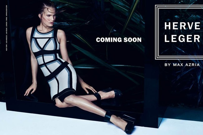 CAMPAIGN Alla Kostromichova for Herve Leger by Max Azria Sprign 2014 by Mikael Kangas. Laura Ferrara, www.imageamplified.com, Image Amplified (5)