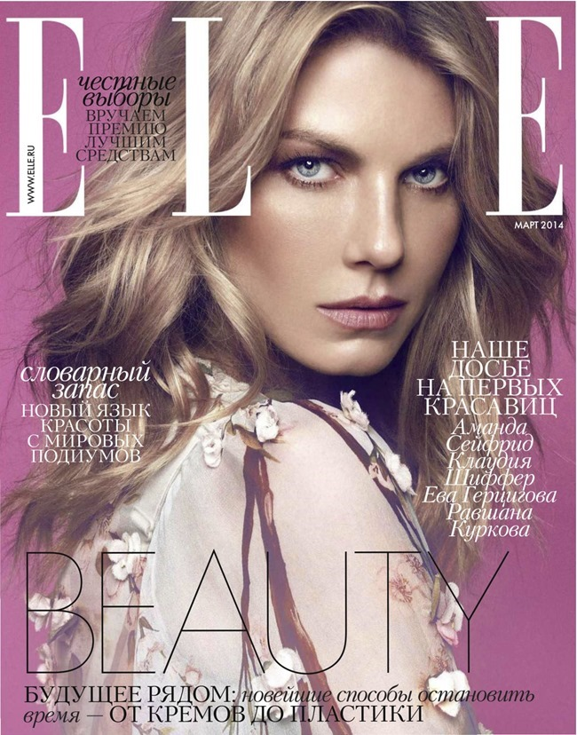 ELLE RUSSIA Angela Lindvall by Xavi Gordo. Daria Anichkina, March 2014, www.imageamplified.com, Image Amplified (1)
