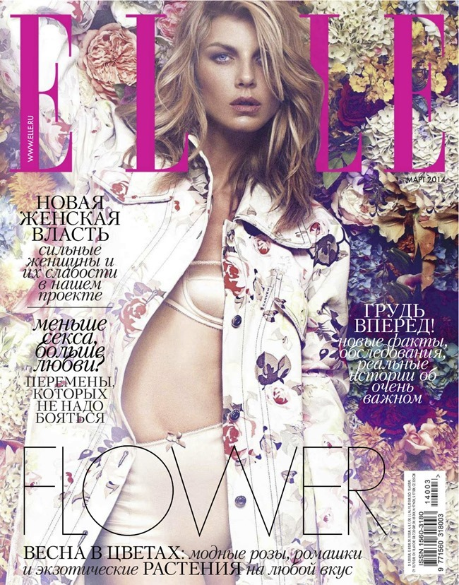 ELLE RUSSIA Angela Lindvall by Xavi Gordo. Daria Anichkina, March 2014, www.imageamplified.com, Image Amplified (2)