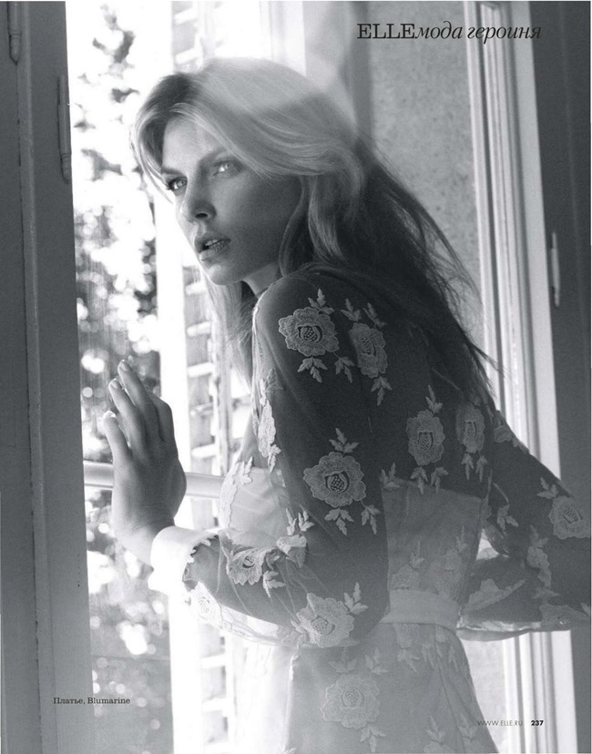 ELLE RUSSIA Angela Lindvall by Xavi Gordo. Daria Anichkina, March 2014, www.imageamplified.com, Image Amplified (11)