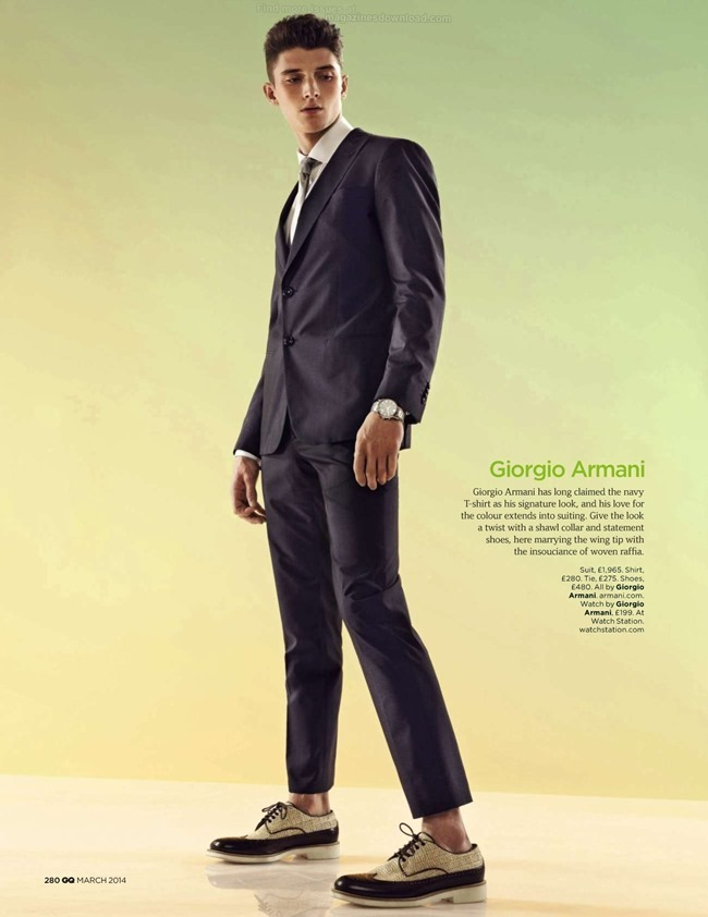 GQ MAGAZINE The Collections Spring 2014 by Guzman. Jo Levin, March 2014, www.imageamplified.com, Image Amplified (11)