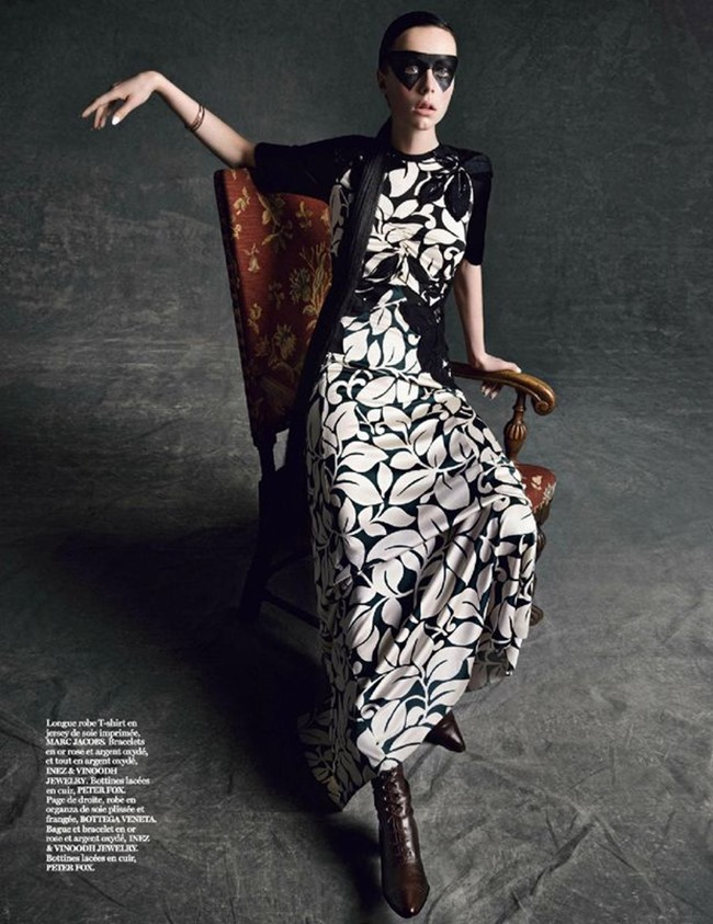 VOGUE PARIS Edie Campbell in Portrait Of A Lady by Inez & Vinoodh. Joe McKenna, www.imageamplified.com, Image amplified (9)