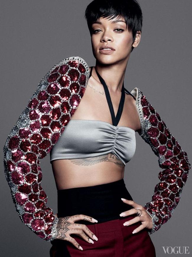 VOGUE MAGAZINE Rihanna by David Sims. Tonne Goodman, March 2014, www.imageamplified.com, Image Amplified (2)