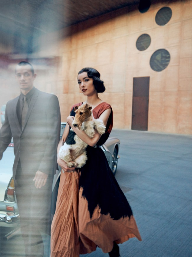 VOGUE MAGAZINE Fei Fei Sun & Joel Kinnaman in The Femenine Mystique by Peter Lindbergh. Tonne Goodman, March 2014, www.imageamplified.com, Image Amplified (2)