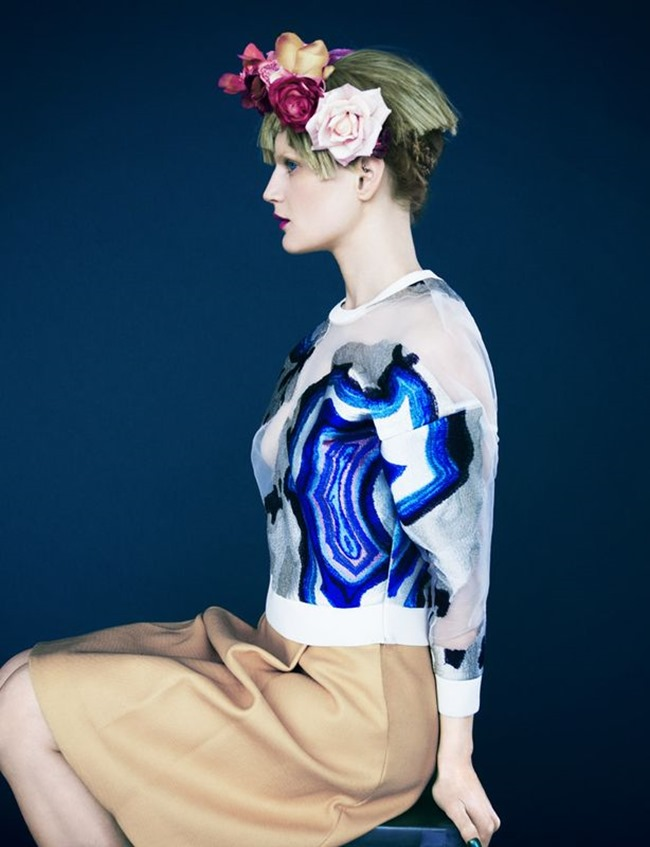 MUSE MAGAZINE Guinevere van Seenus in Portrait of a Lady by Erik Madigan Heck. Yana Kamps, Spring 2014, www.imageamplified.com, Image Amplified (7)