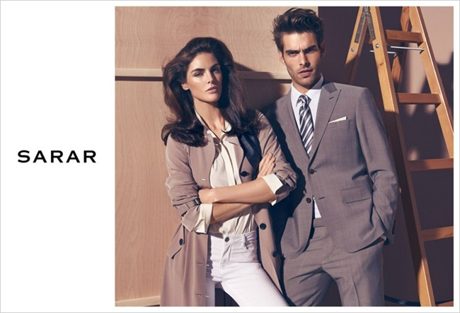 CAMPAIGN Jon Kortajarena & Hilary Rhoda for Sarar Spring 2014 by Koray Birand. www.imageamplified.com, Image Amplified (1)