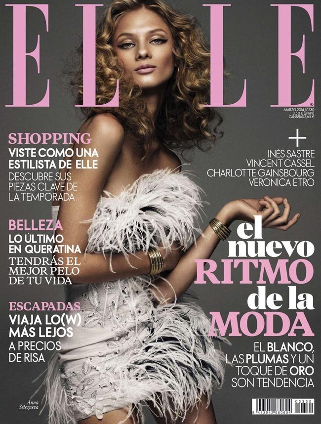 ELLE SPAIN Anna Selezneva in Rock & Sexy by Xavi Gordo. Inmaculada Jimenez, March 2014, www.imageamplified.com, Image amplified (2)
