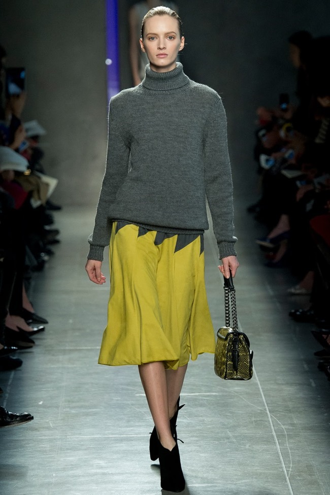 MILAN FASHION WEEK Bottega Veneta RTW Fall 2014. www.imageamplified.com, Image Amplified (2)