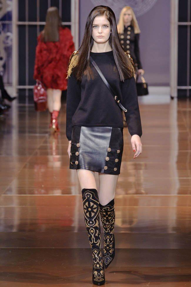 MILAN FASHION WEEK Versace RTW Fall 2014. www.imageamplified.com, Image Amplified (31)