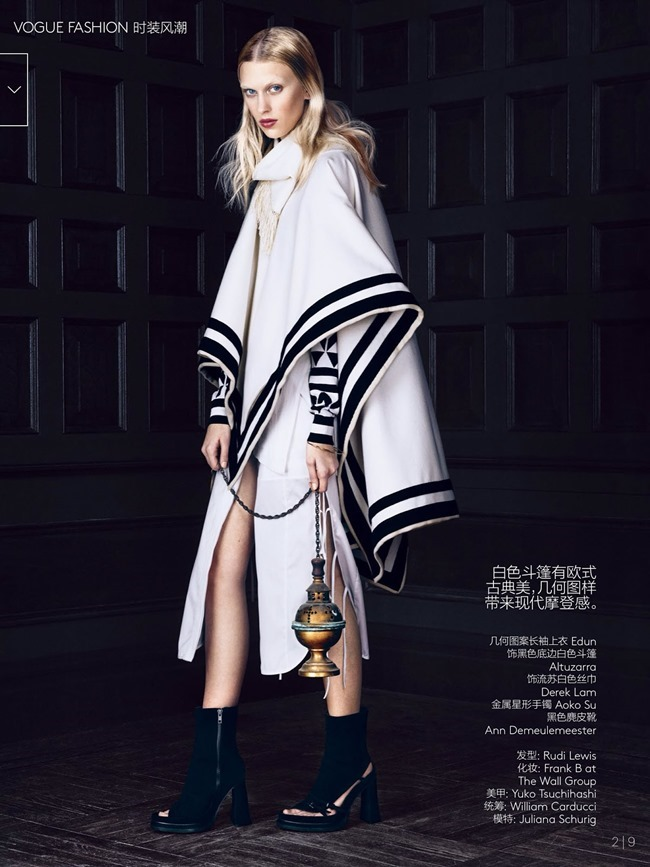 VOGUE CHINA Juliana Schurig in Hidden Cabinet by Lachlan Bailey. Ludivine Poiblanc, March 2014, www.imageamplified.com, Image Amplified (3)