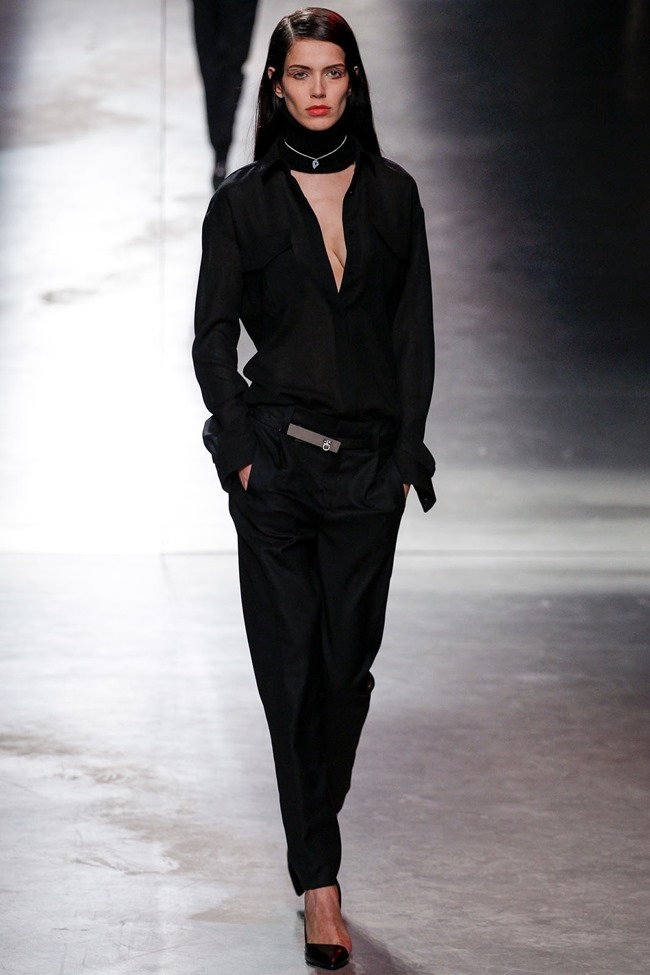 PARIS FASHION WEEK Anthony Vaccarello Fall 2014. www.imageamplified.com, Image Amplified (5)