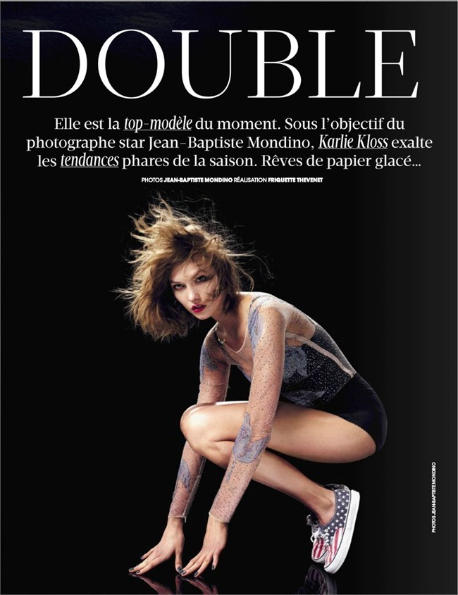MADAME FIGARO MAGAZINE Karlie Kloss in Double Jeu by Jean-Baptiste Mondino. Friquette Thevenet, February 2014, www.imageamplified.com, Image Amplified (2)