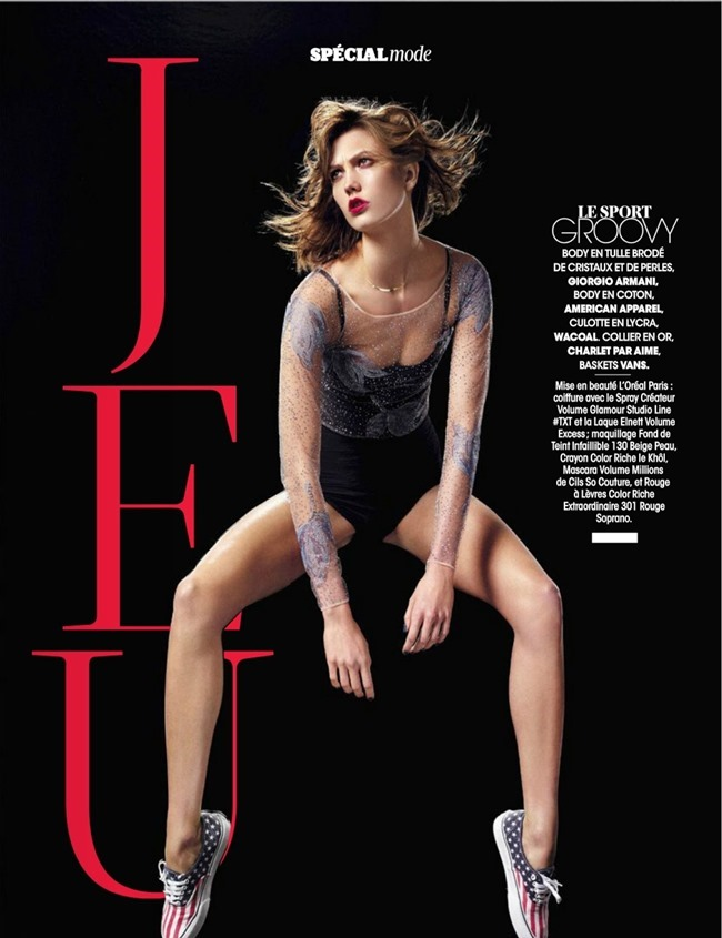 MADAME FIGARO MAGAZINE Karlie Kloss in Double Jeu by Jean-Baptiste Mondino. Friquette Thevenet, February 2014, www.imageamplified.com, Image Amplified (3)