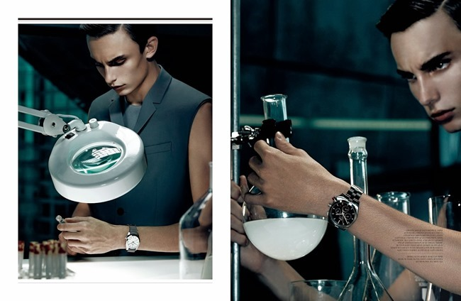 DIOR MAGAZINE Kyle Mobus in Lab by Gregory Harris. Tony Irvine, Spring 2014, www.imageamplified.com, Image Amplified (1)