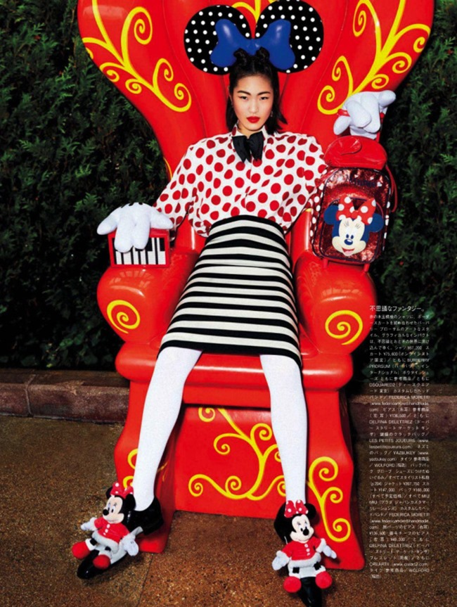 VOGUE JAPAN Georgia May Jagger & Chiharu Okunugi in A Playful Sense of Wonder by Giampaolo Sgura. Anna Dello Russo, April 2014, www.imageamplified.com, Image Amplified (2)
