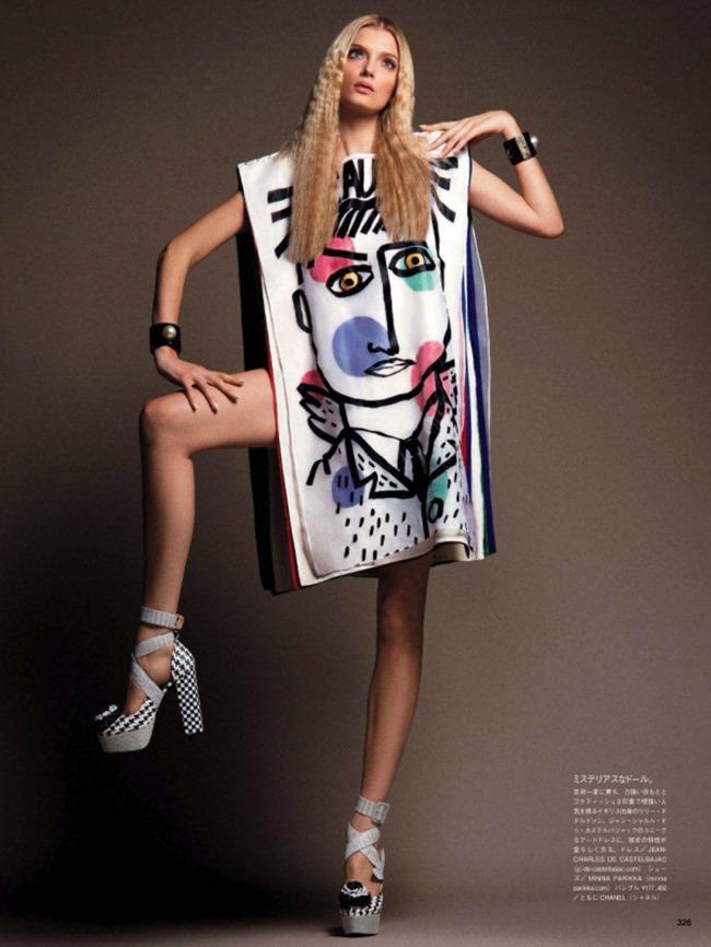 VOGUE JAPAN Style Has Many Faces by Daniele & Iango   Nasta Vojnovic. Giovanna Battaglia, April 2014, www.imageamplified.com, Image Amplified (11)