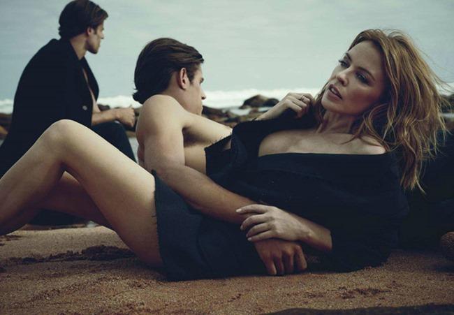 GQ AUSTRALIA Kylie Minogue, Jordan Stenmark & Zac Stenmark by Beau Grealy. Wayne Gross, April 2014, www.imageamplified.com, Image Amplified (5)